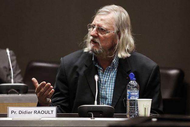 Didier Raoult a été longuement questionné par la commission d'enquête sur la gestion de la crise du coronavirus.