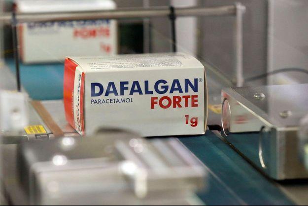 Un boîte de Dafalgan (image d'illustration).