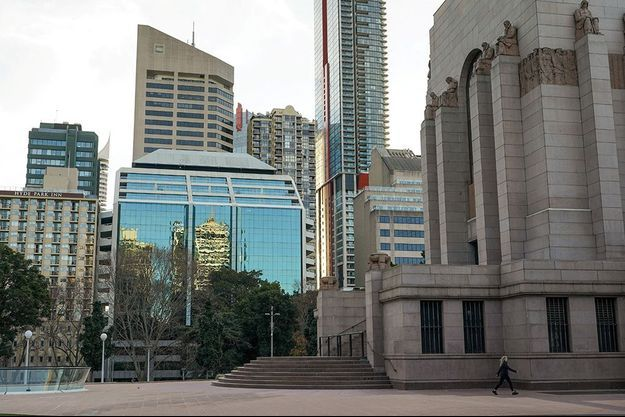 La ville de Sydney en Australie connait une flambée épidémique liée au variant Delta.