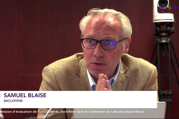Samuel Blaise, président de l'association Olivier Ameisen, auditionné le 3 juillet 2018 en commission d'évaluation du baclofène dans le traitement de l'alcoolisme.