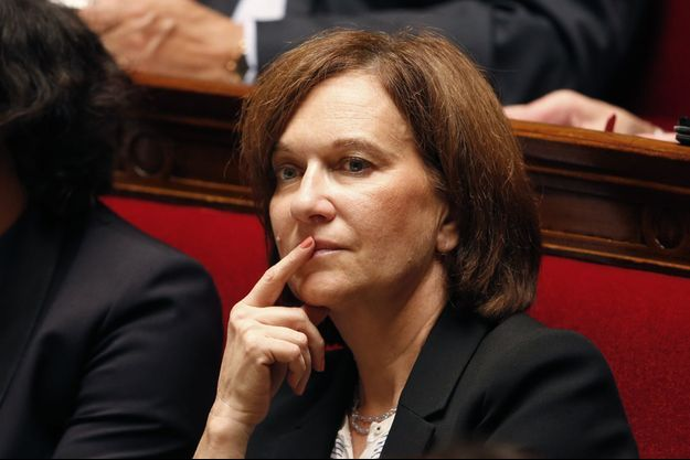 La ministre des Droits des femmes Laurence Rossignol, en octobre 2014.