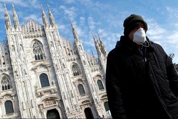 Photo prise à Milan le 4 mars 2020.