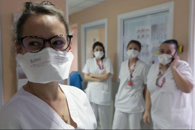 Des infirmières à Nice, le 5 mars 2020. (Photo d'illustration)