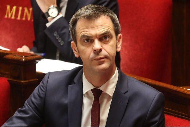 Olivier Véran, le 21 mars à l'Assemblée nationale.