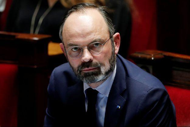 Le Premier ministre, Édouard Philippe, le 3 mars 2020.