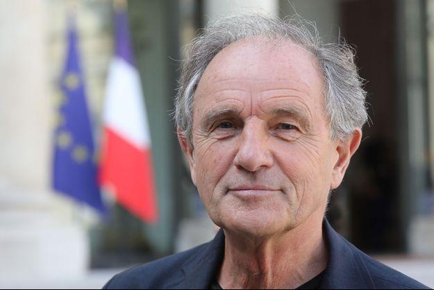 Jean-Paul Hamon, président de la Fédération des médecins de France. ici à l'Elysée en 2018.