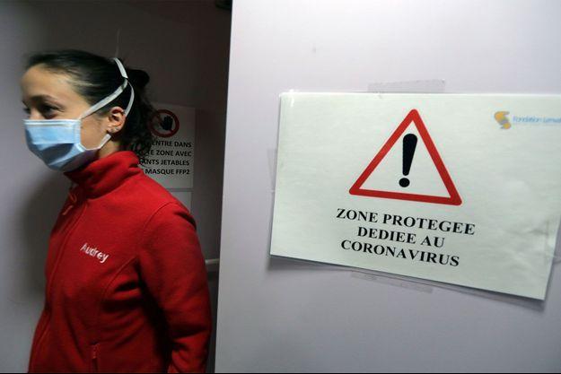 Dans l'unité de l'hôpital pédiatrique de Nice.