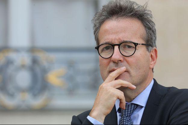Le directeur général de l'Assistance publique - Hôpitaux de Paris, Martin Hirsch, à l'Elysée en 2018.