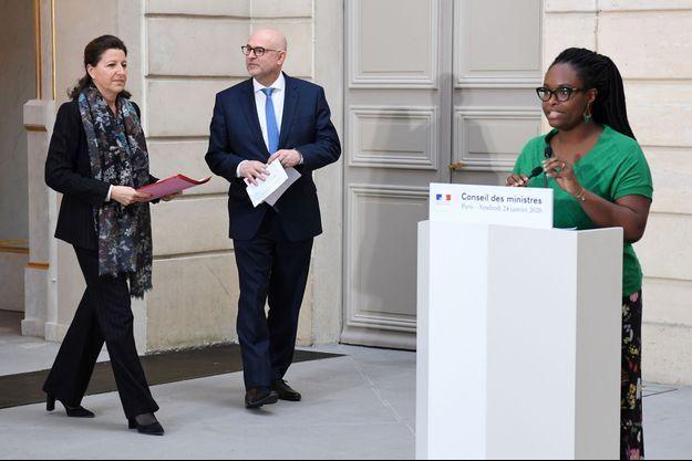 Sibeth Ndiaye le 24 janvier 2020.