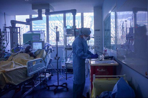 Hôpital Bichât à Paris.