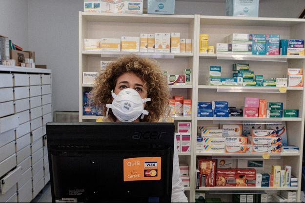 Photo d'illustration prise dans une pharmacie en Italie.