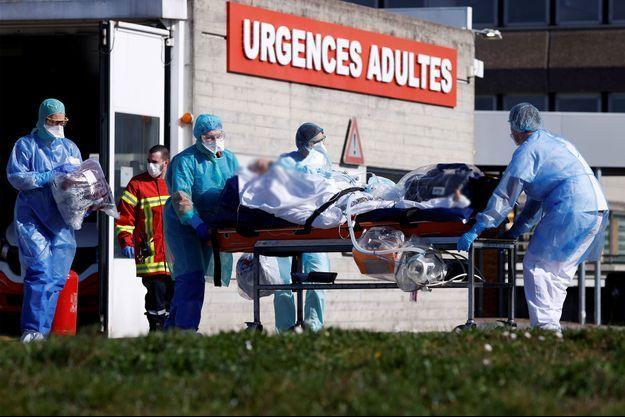 Un patient français transféré vers un hôpital allemand.