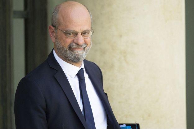 Jean-Michel Blanquer, à l'Elysée le 8 septembre.