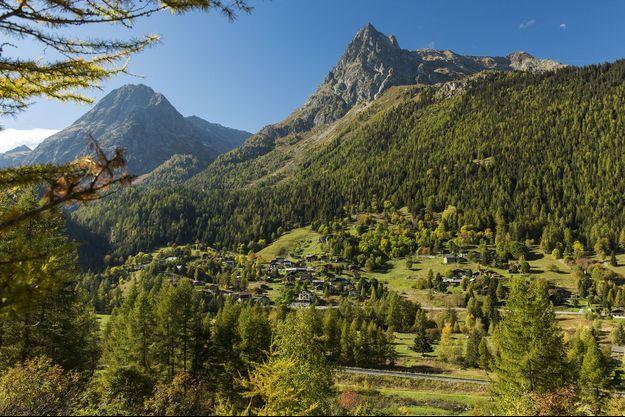 Le domaine de Vallorcine, près de Chamonix.