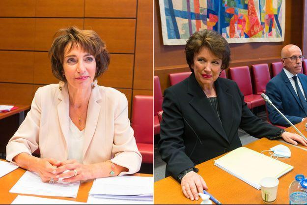 Marisol Touraine et Roselyne Bachelot, mercredi, lors de leurs auditions à l'Assemblée nationale.