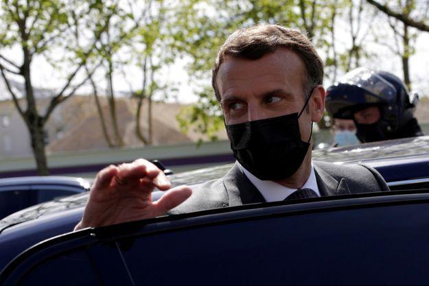 Emmanuel Macron le 26 avril 2021.