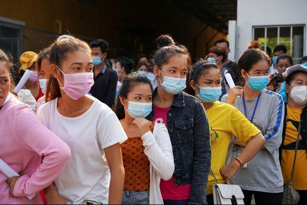 98% des adultes ont été vaccinés au Cambodge.