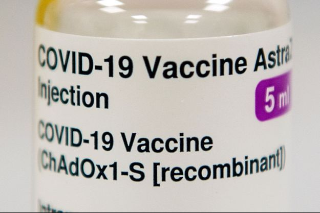 Le vaccin AstraZeneca.