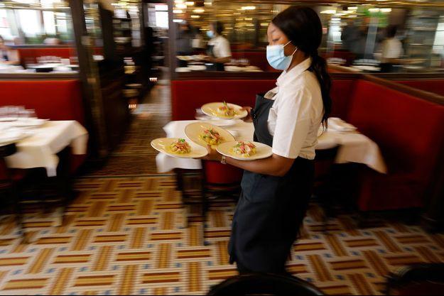 Les salles de restaurant ont rouvert mercredi.