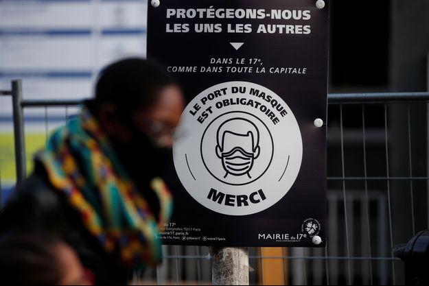 Photo prise à Paris le 1er février 2021.