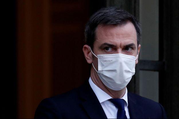 Olivier Véran, le 27 janvier 2021.