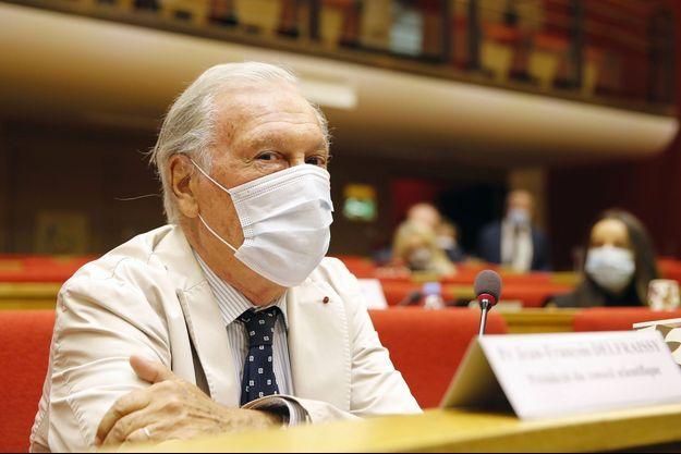 Jean-François Delfraissy au Sénat mi-septembre.