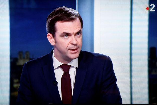 Olivier Véran sur France 2.
