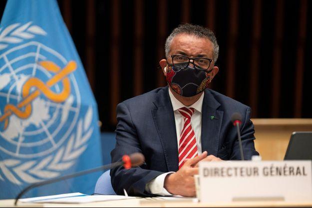 Le directeur général de l'OMS Tedros Adhanom Ghebreyesus, le 5 octobre.