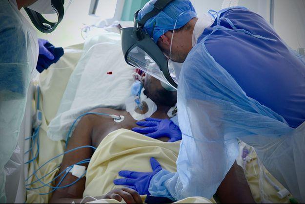 Photo prise à l'hôpital de la Pitié-Salpêtrière AP-HP.