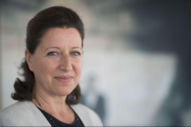 La ministre de la Santé, Agnès Buzyn, lundi dans son bureau.