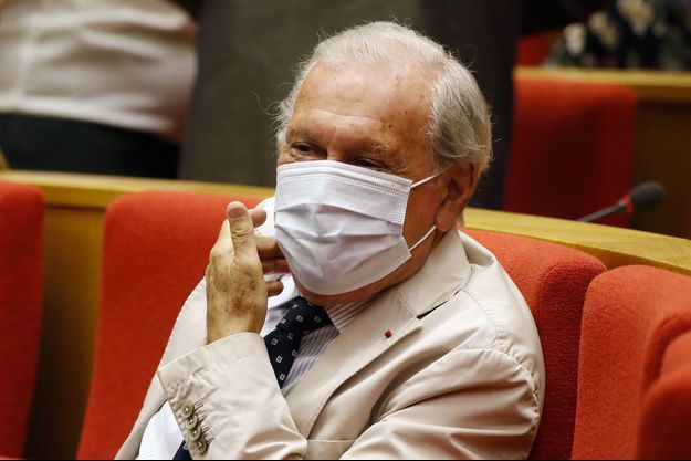 Jean-François Delfraissy au Sénat, lors d'une audition de la commission d'enquête sur le Covid-19, le 15 septembre.