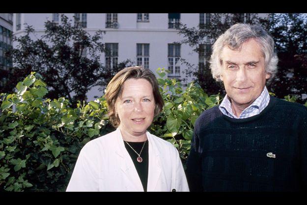 Pr Jean-Jacques Robert et Pr Lucienne Chatenoud