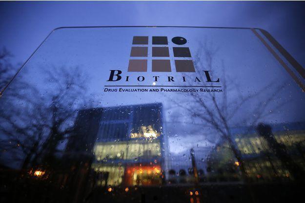 Le laboratoire de Biotrial à Rennes.
