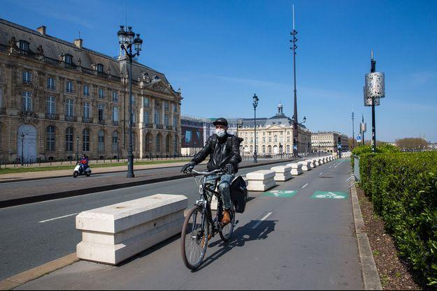 Illustration d'une rue à Bordeaux ce 21 mars 2020