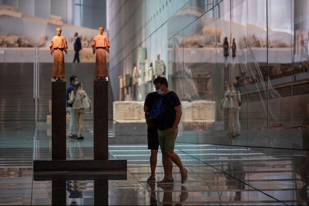 Le musée de l'Acropole, à Athènes, a rouvert.