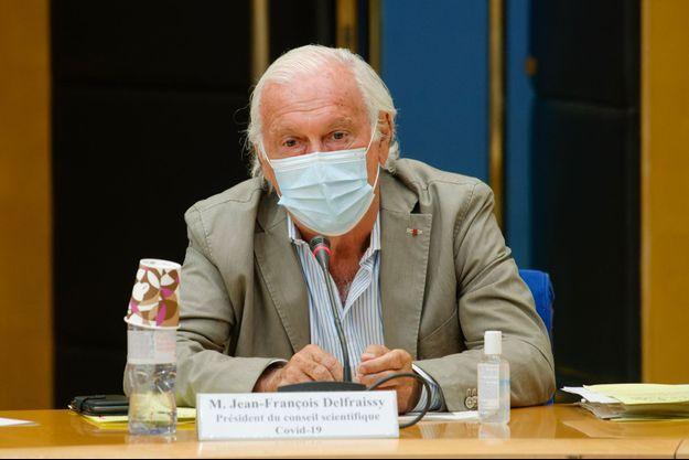 Jean-François Delfraissy au Sénat, jeudi.