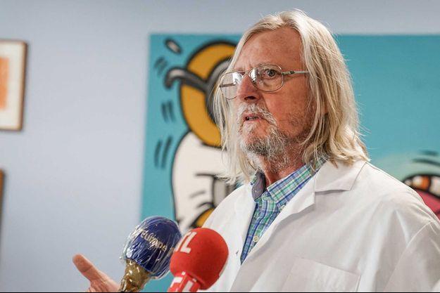 Didier Raoult à Marseille, le 3 juin.