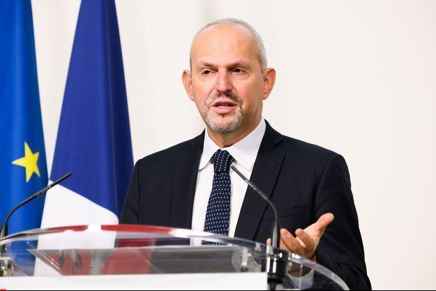 Jérôme Salomon, le 4 décembre en conférence de presse.
