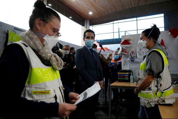 Photo prise le 5 février à l'aéroport Charles-de-Gaulle de Roissy.