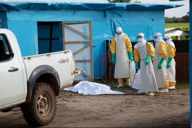 Une unité d'isolation dans le comté de Lofa au Libéria.