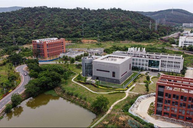 Vue aérienne du laboratoire P4 de l'institut de virologie de Wuhan, le 13 mai.