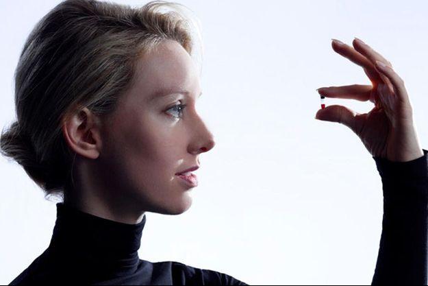 Elizabeth Holmes, la plus jeune milliardaire du monde, créatrice d'entreprise.