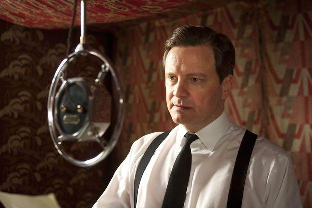 """L'acteur Colin Firth incarne le roi bègue George VI, dans le film """"Le discours d'un roi"""" réalisé par David Seidler."""