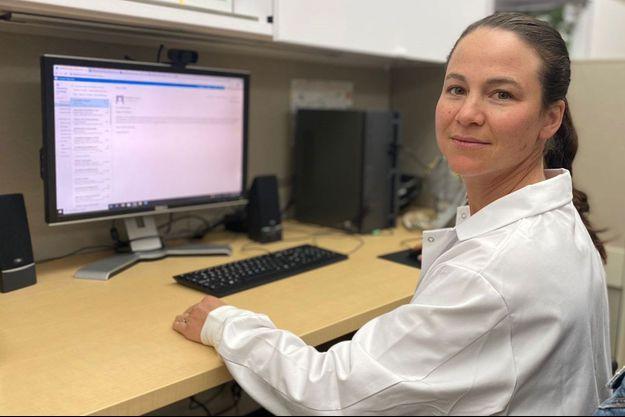 Aurélie Morand, pédiatre infectiologue à l'hôpital de la Timone (AP-HM), où sont suivis, depuis l'été 2020, des enfants souffrant de symptômes prolongés du Covid.
