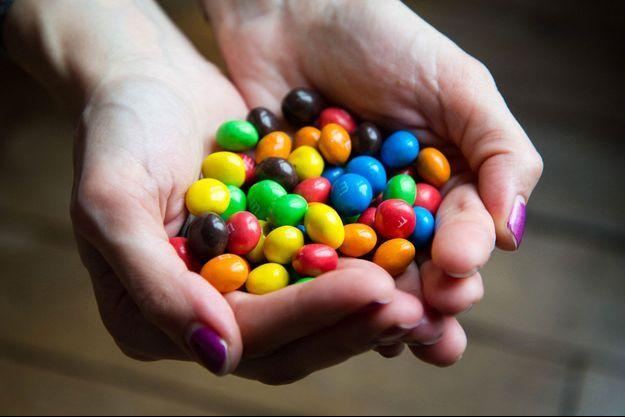 Des bonbons contenant du dioxyde de titane (image d'illustration).