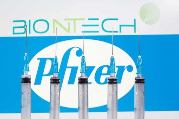 Le laboratoire allemand BioNTech travaille avec l'Américain Pfizer.