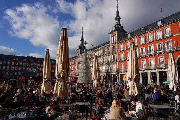 Ici, à Madrid le 20 décembre.