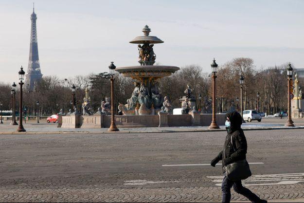 Photo prise à Paris, le 11 février 2021.