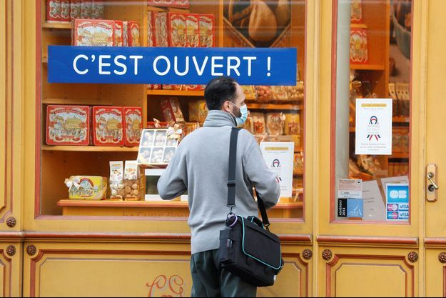 Une boutique à Paris.