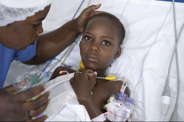Fanta, première opérée à cœur ouvert au Mali.